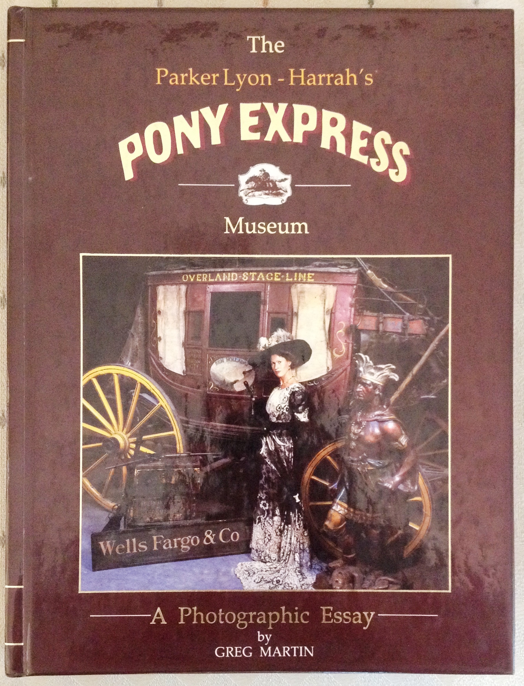 Parker Lyon book on the Pony Express Museum