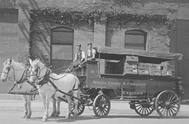 Wells Fargo & Co.'s Express Day Wagon