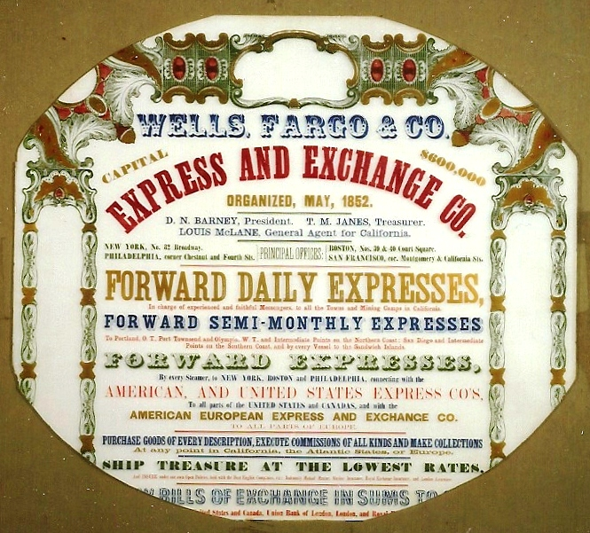 Wells Fargo & Co.'s Express Advertisement for Express and Exchange